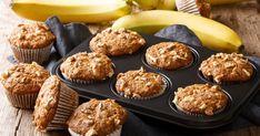Ellenállhatatlan banános muffin roppanós diódarabokkal: süss belőle dupla adagot - Recept | Femina Cake Recipes, Banana, Sweets, Breakfast, Healthy Muffins, Adobe, Design Ideas, Illustrations, Explore