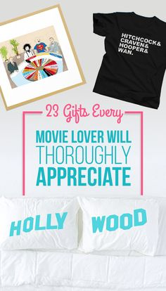 Entertaining gifts for the amateur film critic in your life.