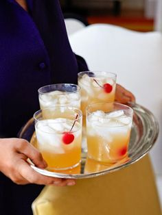 Fresh Whiskey Sour via Ina