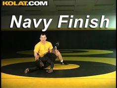 Navy Finish KOLAT.COM Wrestling Techniques Moves Instruction