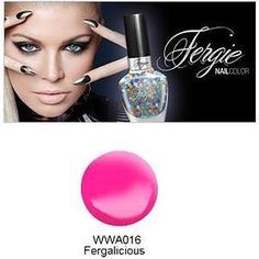 (3 Pack) Wet N Wild FERGIE NAIL COLOR - Fergalicious