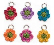 Crochet Flower Stitch Markers