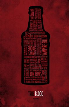 True Blood Art Print
