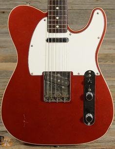 Fender Telecaster Custom '62 Reissue MIJ 1985 Candy Apple Red Price Guide