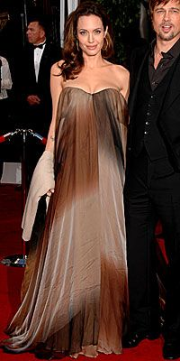 I love this dress and how Angelina Jolie glows!