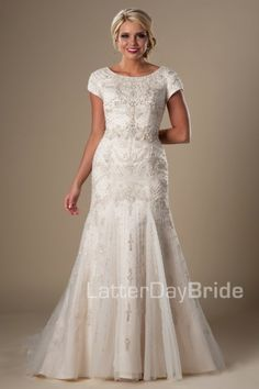 modest-wedding-dresses-raquelle-front-new - dress from shopping with Marina