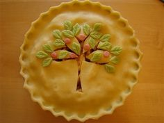 Image only - Apple Tree pie crust