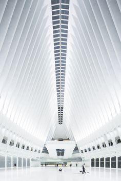 Estação WTC de Santiago Calatrava pelas lentes de Laurian Ghinitoiu,© Laurian Ghinitoiu
