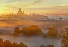New Jerusalem Monastery, Istra, Russia #1 • AirPano.com • Photo