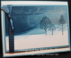 » Water Stamped Winter – Tutorial #545 (Everything Eleanor and Lovely as a Tree)