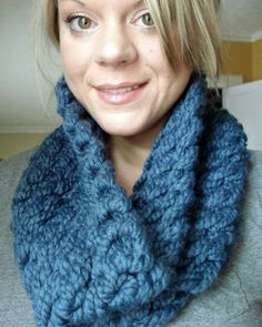 oversized cowl, handknit scarf, infinity scarf, crochet