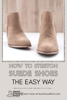 Suede Loafers, Suede Shoes, Shoe Stretcher, How To Stretch Shoes, Thick Socks, Your Shoes, Boots, Easy, Crotch Boots