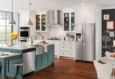 Check out this Frigidaire Gallery 22.2 Cu. Ft. Counter-Depth Side-by-Side Refrigerator and other appliances at Frigidaire.com