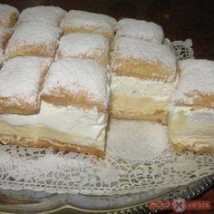 Felhőszelet :-) Camembert Cheese, Dairy, Bread, Food, Brot, Essen, Baking, Meals, Breads