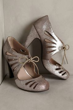 Seychelles Brave Heels My favorite brand. I love the retro gatsby look of  these. sassy silver ...