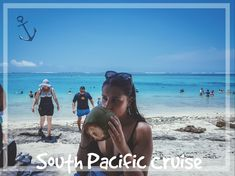 My Tropical Holiday on a Cruise // Travel Beach Photos