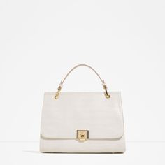 ZARA - NEW IN - CITY BAG WITH FASTENING DETAIL