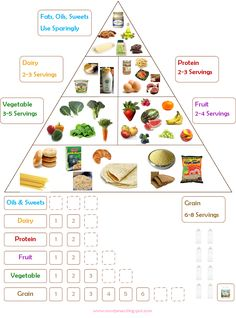 Food Chart | Noor Janan Homeschool