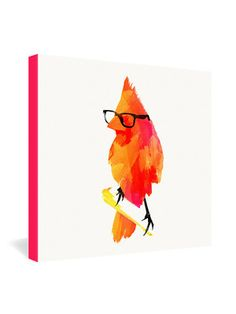 Robert Farkas Punk Bird Wrapped Canvas by DENY Designs $75 on Gilt Home