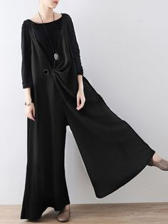 08fd6feb6e2 Hot-sale Fashion Striped Strap Wide Legs Jumpsuits With Belt - NewChic
