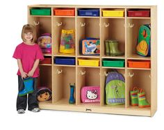The Take Home Center features ten locker sections, each with a paper-tray slot.