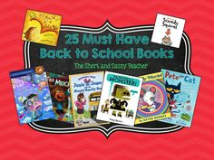 25 Must Have Back to School Books