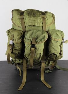 Vintage Alice Pack US Army Backpack by FullMetalApparel on Etsy, $60.00