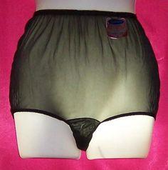 Lingerie Vintage Panties | Vintage Montrico ALL NYLON 60s PANTIES NWT 6