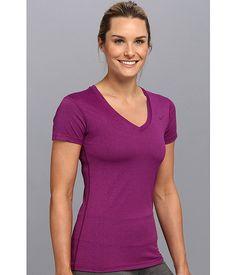 Nike Regular Legend Short-Sleeve V-Neck Bright Grape/Cool Grey/Bright Grape - 6pm.com