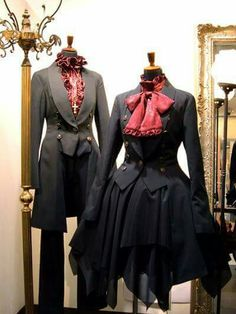 Victorian couples outfits for me and Mr. Nickerson (@hobnickerson)