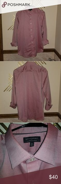 Banana Republic Dress Shirt Great Color! 100% Cotton Excellent Condition Banana Republic Shirts Dress Shirts