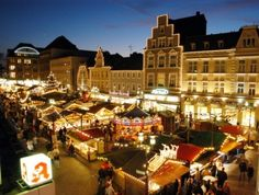 weinachtsmarkt in Recklinghausen Germany