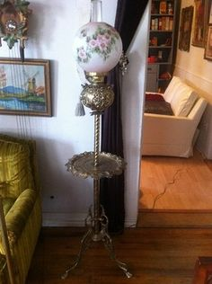 Gone With The Wind Parlor Bankquet Lamps By Jah0514 On