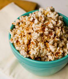 Coconut Oil Popcorn: Chili Cinnamon. Spicy Sweet.