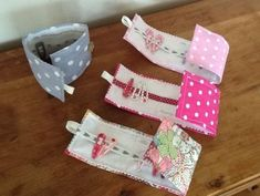 Bags for hair clips - great to take away . - # for # hair band # hair clips . - Bags for hair clips – great to take away … – clips - Sewing For Kids, Baby Sewing, Diy For Kids, Sewing Hacks, Sewing Tutorials, Sewing Patterns, Diy Couture, Couture Sewing, Fabric Crafts