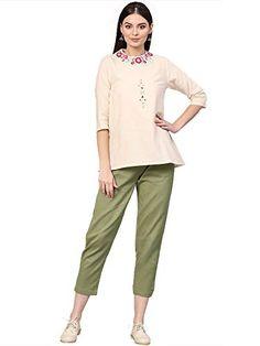 Sleeve Types, Types Of Sleeves, Festival Wear, White Fabrics, Daily Wear, Off White, Work Wear, Festive, Capri Pants