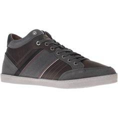 fantastische Wrangler wm172101 sneakers men leather heren sneakers (Grijs)