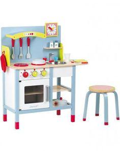 Küche mit Accessoires PICNIK DUO in hellblau