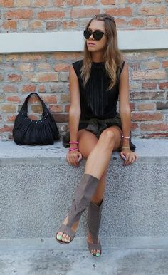 shirt-calliope shorts-terra nova shoes-chic bag-secondhand