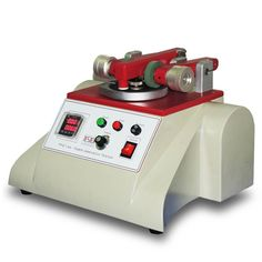 Taber Abrasion Tester(Taber Abraser), to test the wear resistance of all kinds of structures including fabrics, leather, and rubber, paper, metals, paints, plated surfaces, coated materials, glass etc.