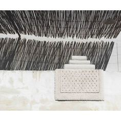 The St. Pierre Home Fashion Collection Graccioza Bio LuxuryLinen Waffle Bath Mat Size: