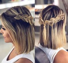 17 Easy Updo Hairstyles for Short Hair Here are the best up. - 17 Easy Updo Hairstyles for Short Hair Here are the best updos to facilitate y - Prom Hairstyles For Short Hair, Easy Updo Hairstyles, Braids For Short Hair, Hairstyles Haircuts, Hairstyle Ideas, Amazing Hairstyles, Bohemian Hairstyles, Wavy Hair, Perfect Hairstyle