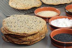 A recipe for wonderfully thin Swedish style rye knäckebröd. Crispbread Recipe, Bakers Gonna Bake, Swedish Style, Swedish Recipes, Diy Food, Food Ideas, Best Dishes, Bread Recipes, Kitchens