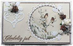 Jeanetts kortblogg: Tutorial Toffifee- eske og konkurranse. Stamping Up, Christmas Cards, Decorative Plates, Scrapbook, Handmade, Gifts, Gift Boxes, Design, Tutorials