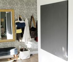 DIY Large Stretched Canvas