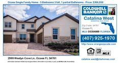 Homes for Sale in Ocoee - 2999 Westyn Cove Ln, #Ocoee FL 34761 Single Family Home For Sale in Zipcode 34761 2999 Westyn Cove Ln, Ocoee FL 34761 - #Orlando #Realestate