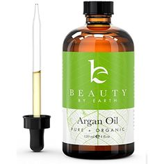 Beauty by Earth USDA Certified Organic Moroccan Argan Oil, 4 oz * You can get additional details at the image link. (This is an affiliate link) #HairCare