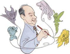 Marc Davis & his famous characters