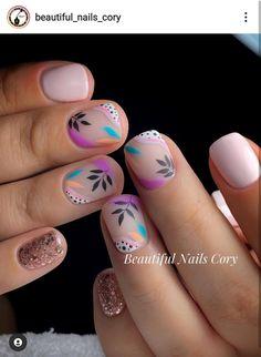 Nail Art Hacks, Gel Nail Art, Acrylic Nails, Spring Nails, Summer Nails, Nail Art Printer, Nail Lab, Nail Time, Gelish Nails