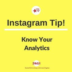 Instagram Tip: Know your analytics Do  you know which of your pics are doing the best? If not and you wish to know more about your analytics then Squarelovin.com is the answer its awesome and its FREE!! It will let you know which of your pics are doing the best and the best time to post for optimal engagement.  Why not check it out!! Want to learn more about building your business using Instagram & Social Media? Or fancy working closely with me? Then click on the link in my bio… Social Media Tips, Social Networks, Lisa Hughes, Dot Symbol, Instagram Tips, Instagram Posts, Best Time To Post, My Community, Lisa Marie